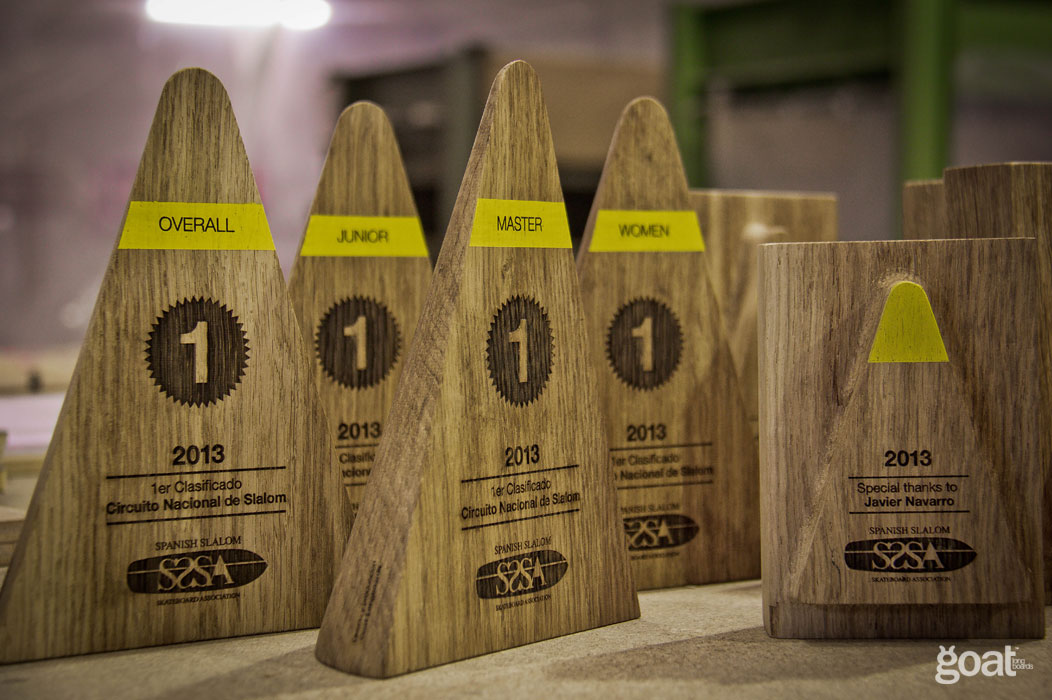 conjunto todos los trofeos premios