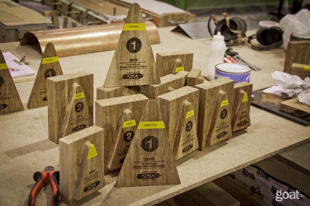 familia bambu diseño trofeos sssa