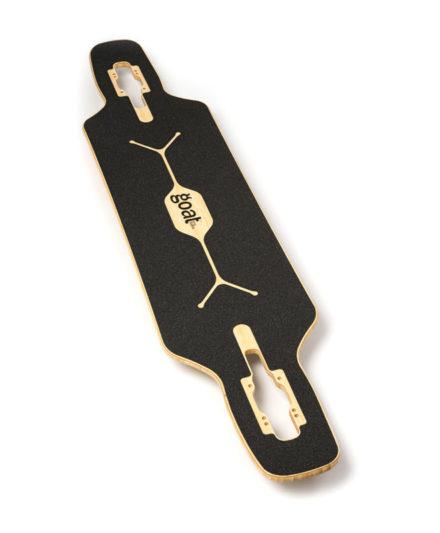 tabla carving feestyle longboard bamboo elude drop lija goatlongboards