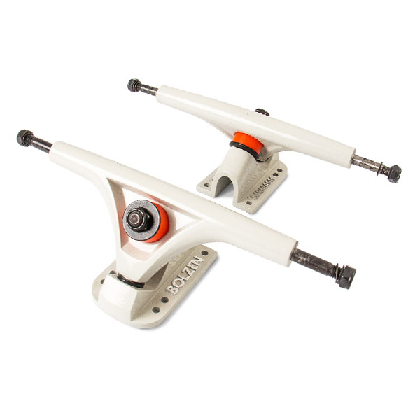 Modelo Eje - Bolzen 180mm 50º White - Goat Longboards
