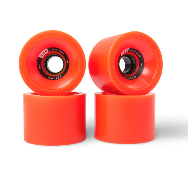 Modelo Rueda - Walzen CTD 70mm 78a Contact patch 39mm Orange - Goat Longboards
