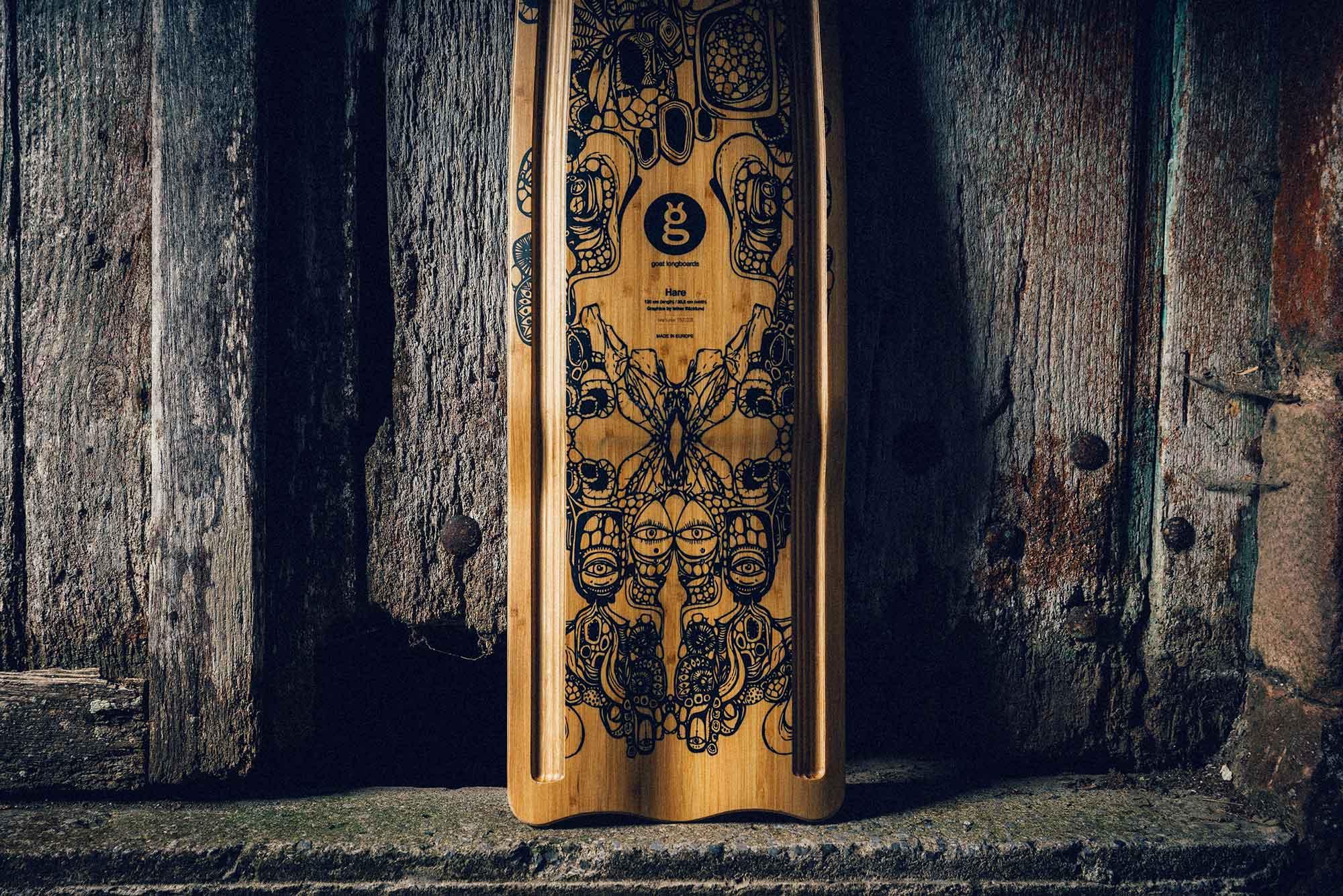 tabla buttboard hare diseñada por mikel echegaray