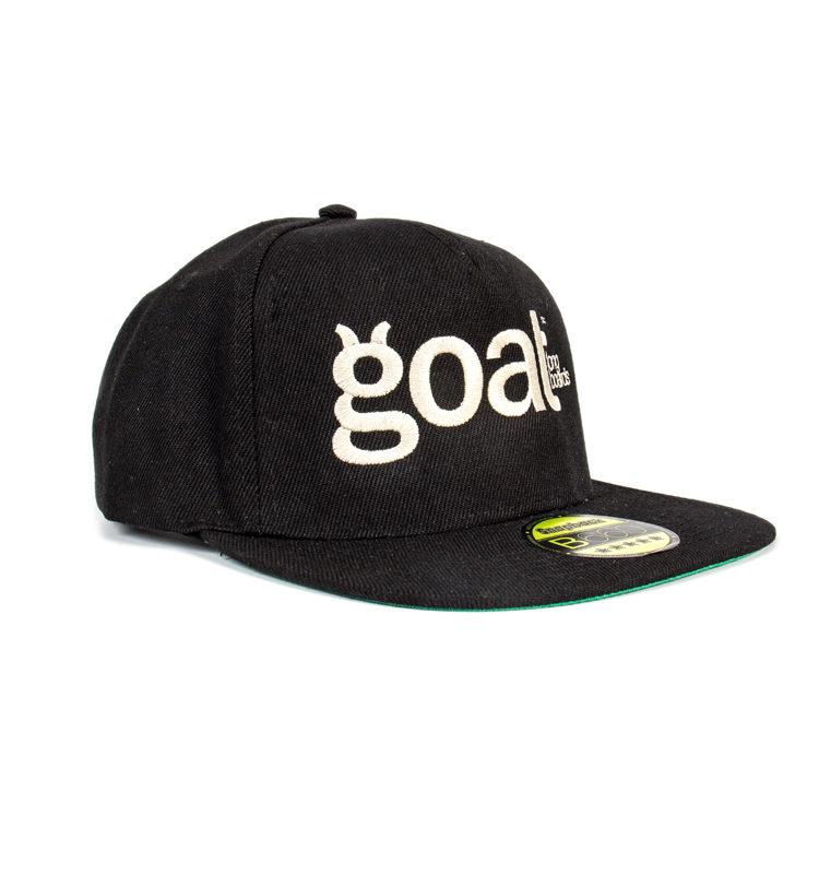 gorra de tela personalizada por goat longboards