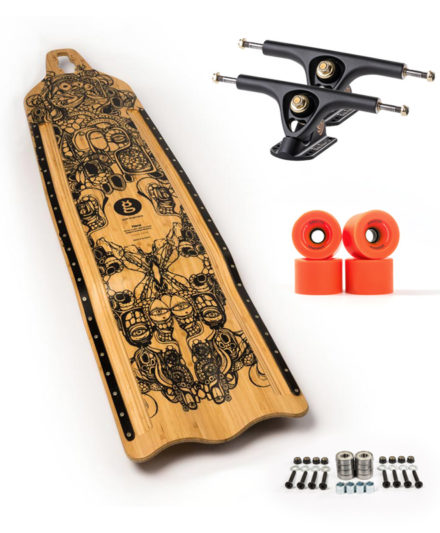 goat hare buttboard downhill set up recomendado goatlongboards