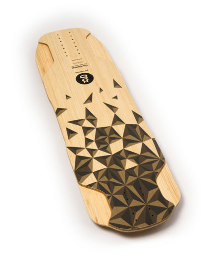 downhill freeride longboard bamboo thor hammer top goatlongboards