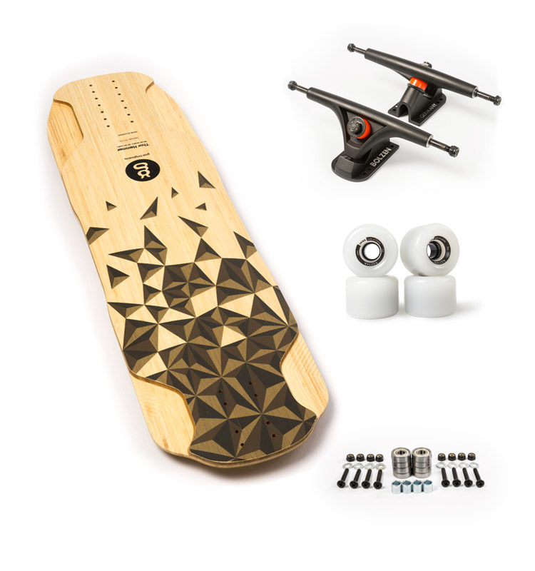 thor hammer top longboard freeride set up recomendado goatlongboards