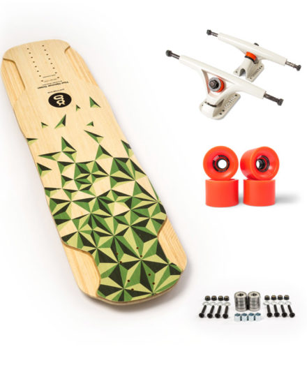 thor hammer green top longboard downhill set up recomendado goatlongboards