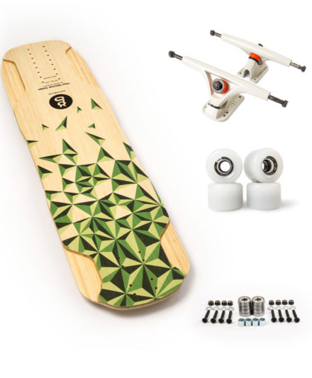 thor hammer green top longboard freeride set up recomendado goatlongboards