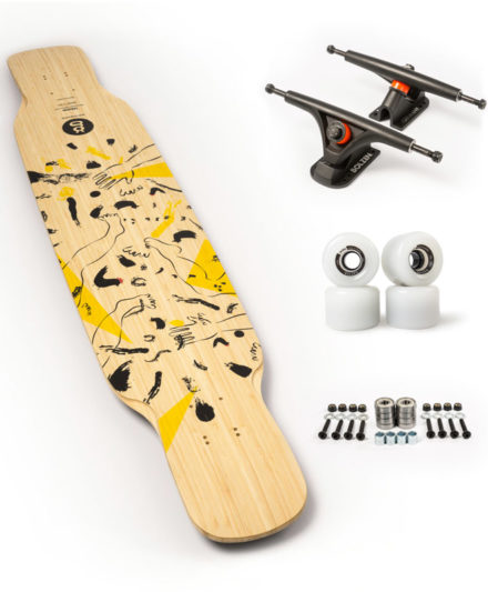 goat uzume longboard freestyle set up recomendado goatlongboards