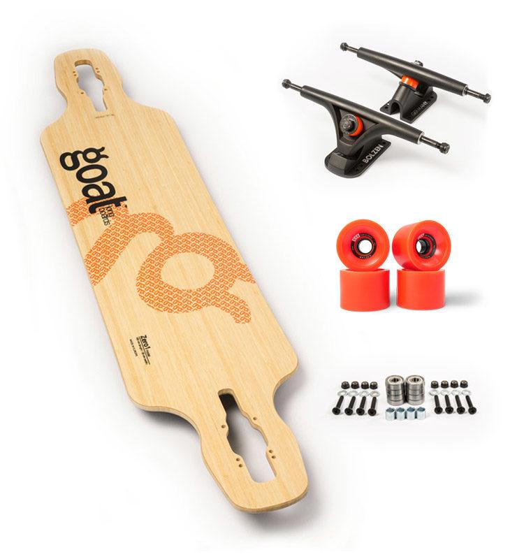 zero1 drop longboard carving set up recomendado
