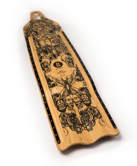 downhill buttboard bamboo hare top goatlongboards