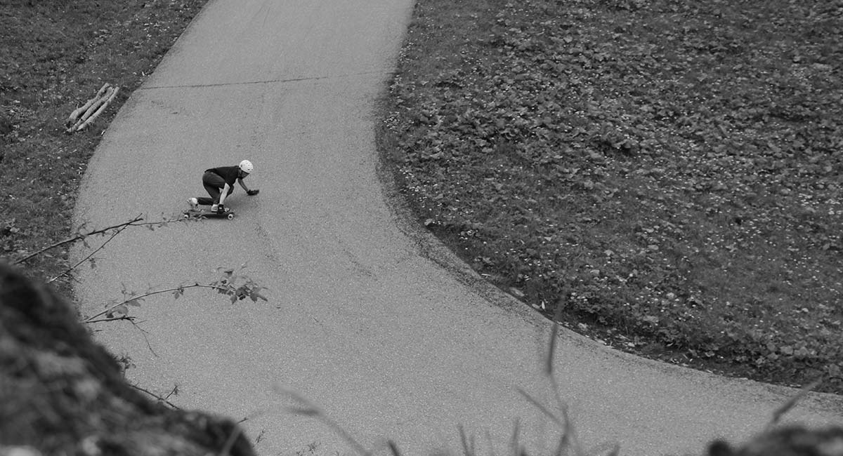 alix papoutsos goat longboard team rider