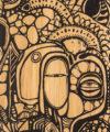 detalle gráfico downhill buttboard bamboo hare perfil