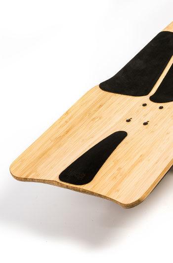 ecambio del cuero para la tabla de longboard hare top