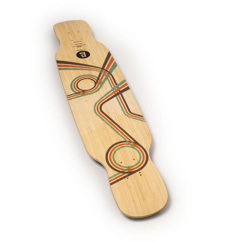 downhill dancing longboard bamboo soul top goatlongboards