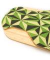 detalle punta freeride longboard bamboo thor hammer green