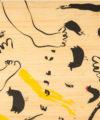 detalle gráfico dancing longboard bamboo uzume