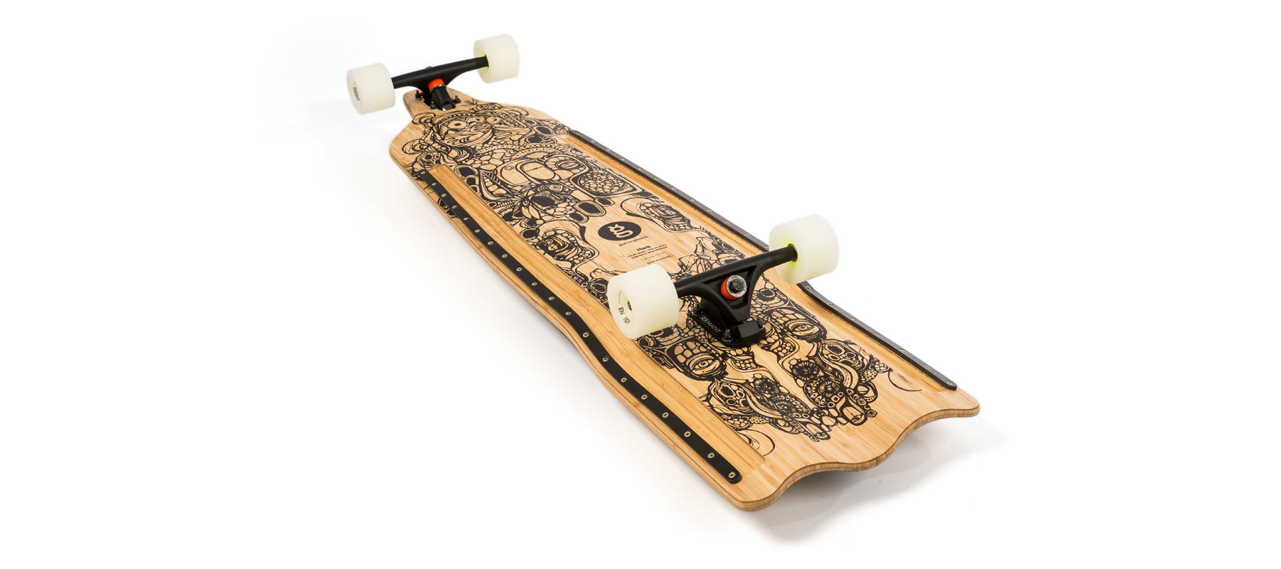 downhill buttboard bamboo hare montada