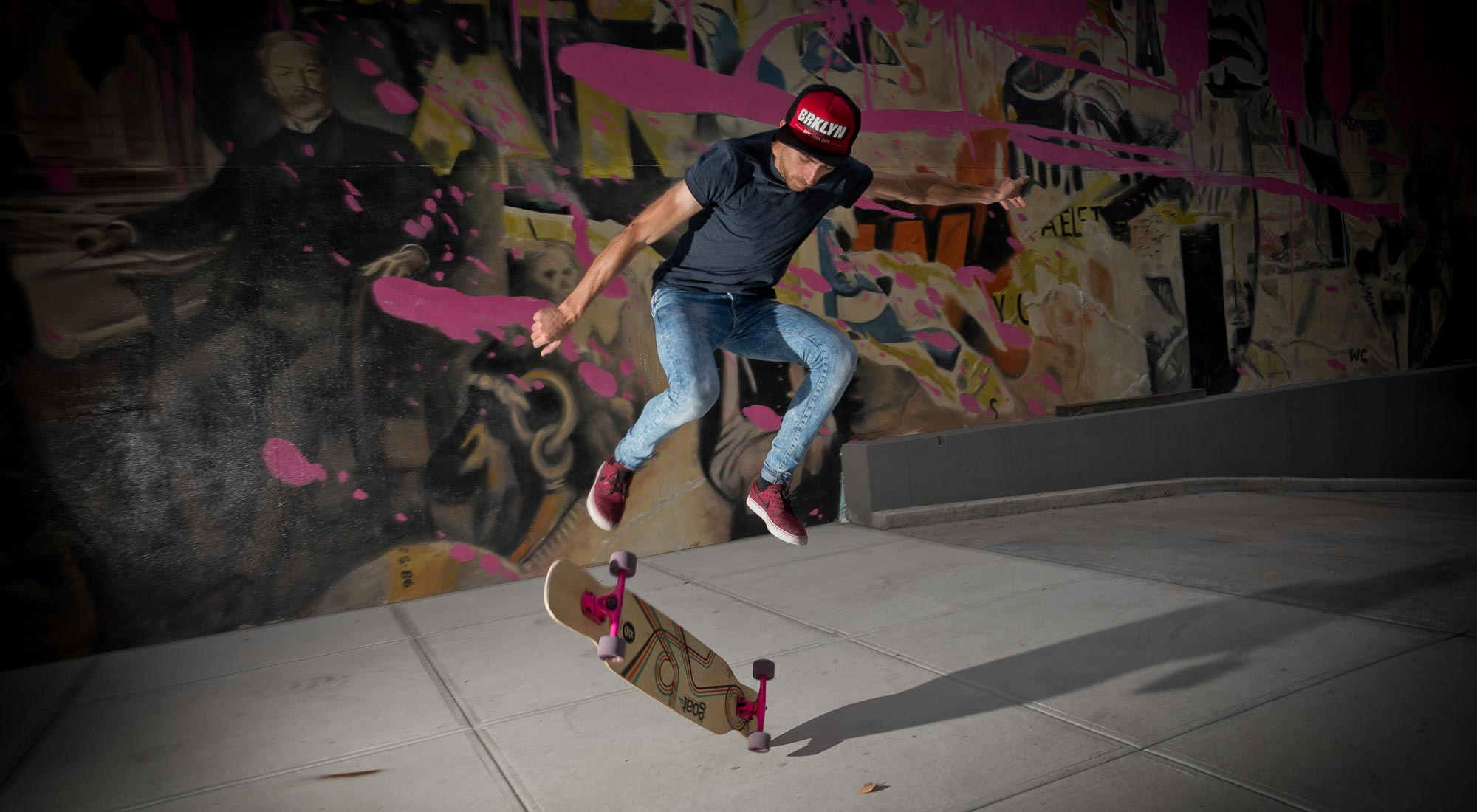 sergio valdehita patinando tabla carving feestyle longboard bamboo soul lija goatlongboards