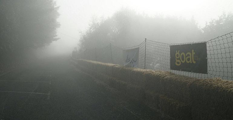 circuito ibarding long fest con niebla