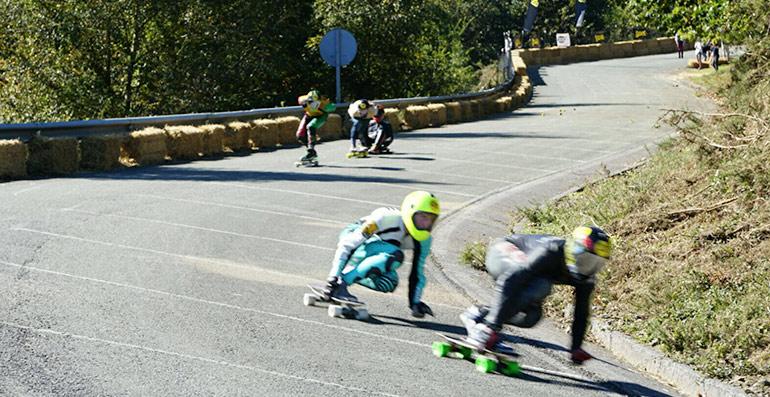 carrera final del ibardin longboard fest king of the hill