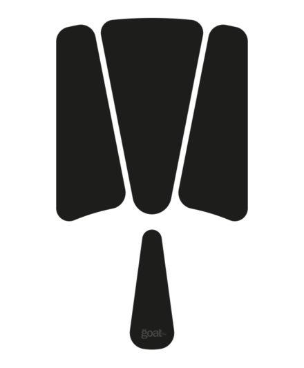 troquel de recambio del cuero para la tabla de longboard hare top